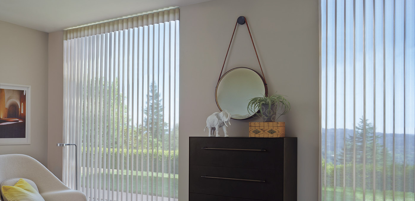 Luxaflex Inspiration Luminette Privacy Sheers 12