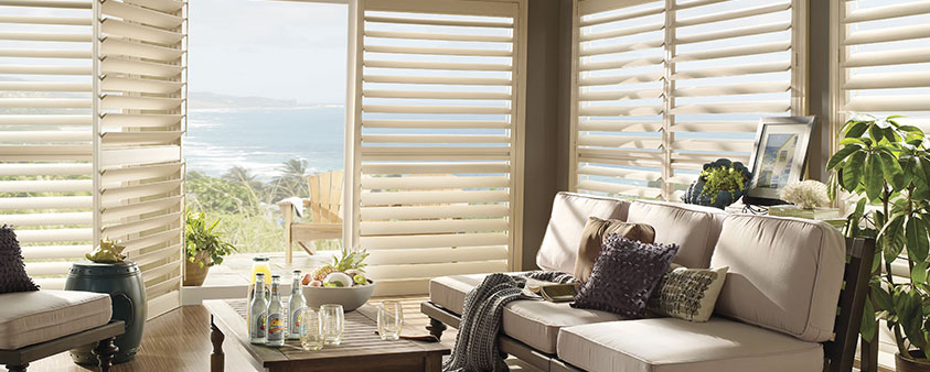 Luxaflex Products External Collection Shutters Polysatin Shutters